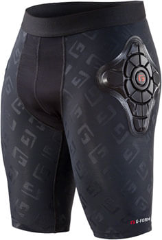 G-Form Pro-X Men's Short: Black/Embossed G, SM