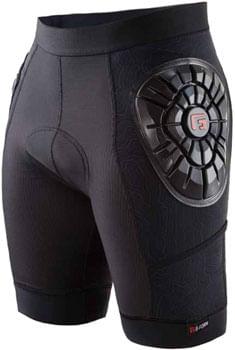 G-Form Elite Liner Shorts: Black Topo XL