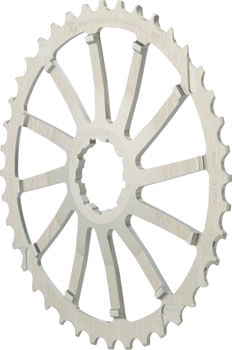 Wolf Tooth 40T GC cog for SRAM 11-36 10-speed Cassettes, Silver