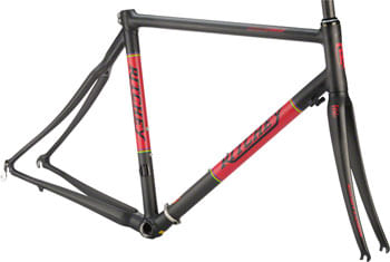 Ritchey Break-Away Frameset - 700c, Carbon, Black/Red, Large
