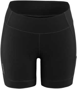 Garneau Fit Sensor 2 Shorts - Black, 5.5 inseam, Women's, Large