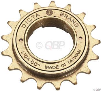 Dicta Standard BMX Freewheel - 17t, Gold