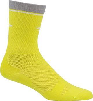 DeFeet Levitator Lite D-Logo Socks - 6 inch, Sulfur Springs, Small