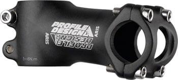 """Profile Design Aris Stem - 80mm, 26 Clamp, +/-7, 1 1/8"""", Aluminum, Black"""
