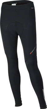 Bellwether Thermaldress Men's Tight with Pad: Black MD