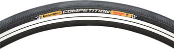 Continental Competition Tubular Tire - 700 x 22, Tubular, Folding, Black, 180tpi