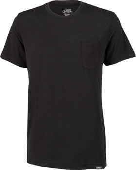 Surly Merino Pocket T-Shirt: Black MD
