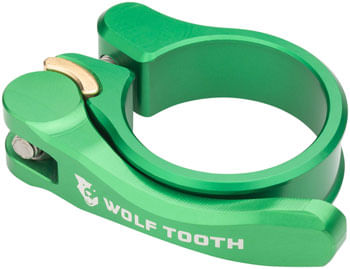Wolf Tooth Components Quick Release Seatpost Clamp - 28.6mm, Green