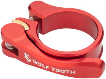 Wolf Tooth Components Quick Release Seatpost Clamp - 36.4mm, Red