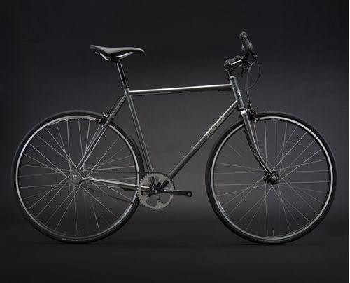 Milwaukee Bicycle Co. Orange One Single-Speed Frameset