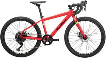 "Salsa Journeyman Advent Bike - 24"", Aluminum, Red, One Size"