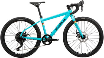 "Salsa Journeyman Advent Bike - 24"", Aluminum, Teal, One Size"