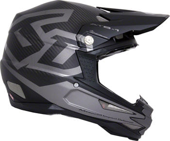 6D ATB-1 Carbon Macro Down Hill Full-Face Helmet - Black, X-Small