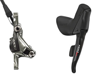 SRAM Red 22 Traditional Mount Hydraulic Disc Brake with Rear 11-Speed Shifter, 1800mm Hose, Rotor and Bracket Sold Separately