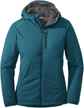 Outdoor Research Ascendant Women's Hoody: Washed Peacock/Pewter, SM