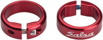 Salsa Lock-On Collars Red