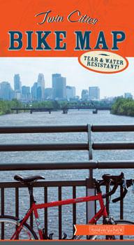 Bikeverywhere Twin Cities Bike Map: 12th Edition, 2018