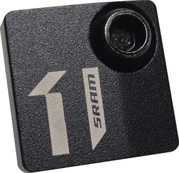 SRAM Front Derailleur Direct Mount Frame Cover, Black Anodized Aluminum