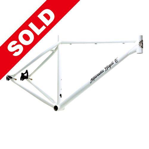 Milwaukee Bicycle Co. Grit 29er Frame - 19'' - White - Blem