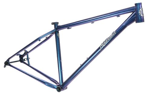 Milwaukee Bicycle Co. Feral - 17 Inch - Chameleon Sapphire Teal