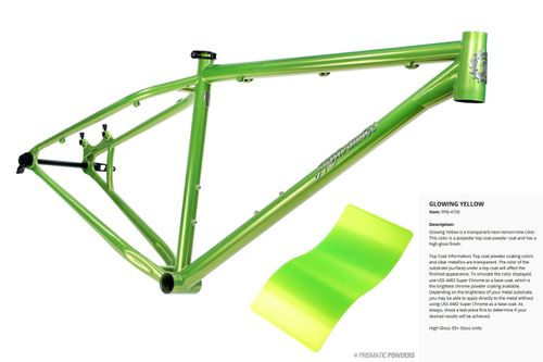 Milwaukee Bicycle Co. Gravy - 17 Inch - Glowing Yellow