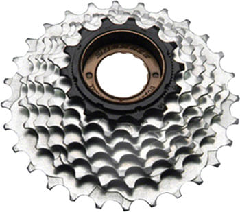 SunRace M2A 6-speed 14-28 Freewheel Black/Zinc