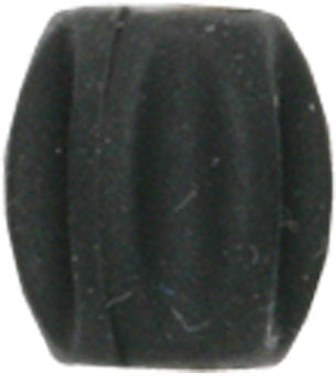 Jagwire Mini Tube Tops Frame Protectors for 4mm or 5mm Housing or Hose Bag of 6, Black