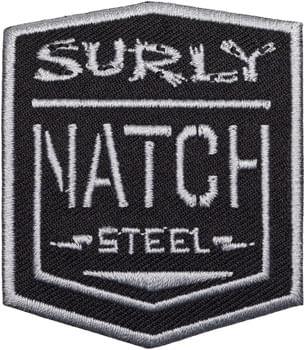 Surly Natch Patch: Black/Silver