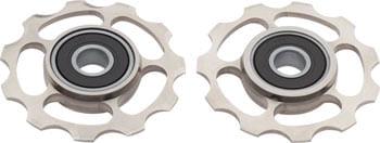 CeramicSpeed Shimano 11-speed Pulley Wheels: Coated, Titanium, Raw