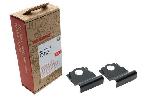 Yakima Q113 Q Tower Clips w/ A Pads & Vinyl Pads #00713 2 clips Q113