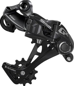 SRAM GX Rear Derailleur - 11 Speed, Long Cage, Black, 1x, With Clutch