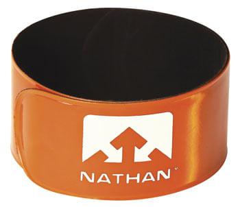 Nathan Reflex Reflective Snap Bands: Pair, Orange