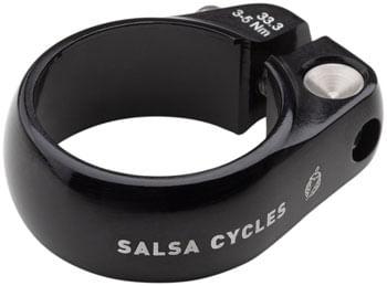 Salsa Lip-Lock Seat Collar 33.3mm Black
