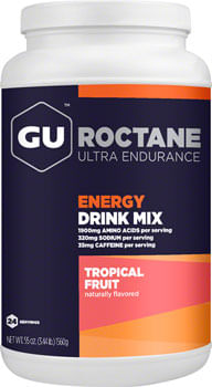 GU Roctane Energy Drink Mix: Tropical, 24 Serving Canister