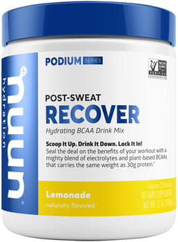 Nuun Recover Hydration Drink Mix: Lemonade, 20 Serving Canister