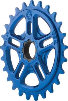 Profile Racing Spline Drive Sprocket, 25t Blue for 19mm 48 Spline Spindles