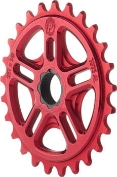 Profile Racing Spline Drive Sprocket, 25t Red for 19mm 48 Spline Spindles