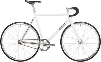 All-City Thunderdome Bike - 700c, Aluminum, Polished Pearl, 46cm
