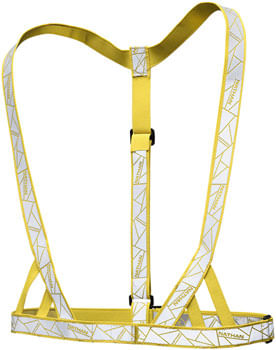 Nathan Reflective Vibe Vest - Yellow, One Size Fits Most