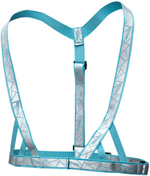 Nathan Reflective Vibe Vest - Cornflower Blue, One Size Fits Most
