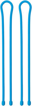 "Nite Ize Gear Tie Reusable Rubber Twist Tie -  18"", 2 Pack, Bright Blue"