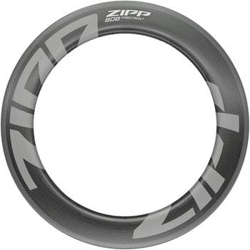 Zipp Speed Weaponry 808 Firecrest Carbon Rim - 700, Rim Brake, Matte Carbon, 18H, Front
