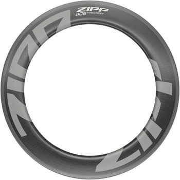 Zipp Speed Weaponry 808 Firecrest Carbon Rim - 700, Rim Brake, Matte Carbon, 24H, Rear