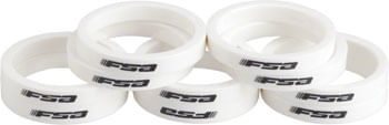 "FSA Polycarbonate Headset Spacers 1 1/8"" x 5mm 10 pcs White"