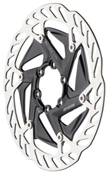 FSA (Full Speed Ahead) K-Force WE Disc Brake Rotor - 160mm, 6-Bolt, Silver