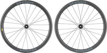 Vision SC40 Wheelset - 700, QR/15 x 100/130mm, Center-Lock, HG11, Black