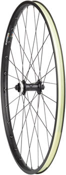 Quality Wheels Value Double Wall Series Disc Front Wheel - 650b, QR x 100mm, Center-Lock, Black