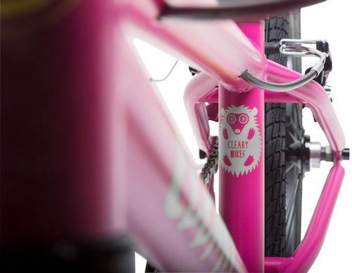 "Cleary Bikes Hedgehog 16"" Single Speed Complete Bike Sorta Pink"