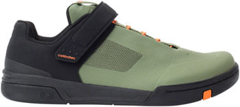 Crank Brothers Stamp SpeedLace Men's Flat Shoe - Green/Orange/Black, Size 12