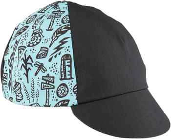 Salsa Gravel Stories Cycling Cap - Black/Blue, One Size